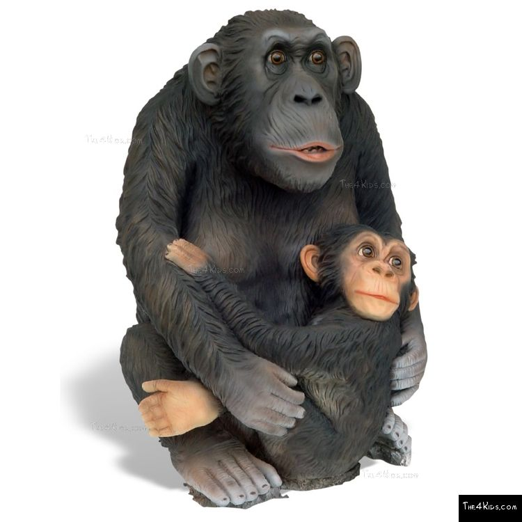 Image of Small Monkey with Baby