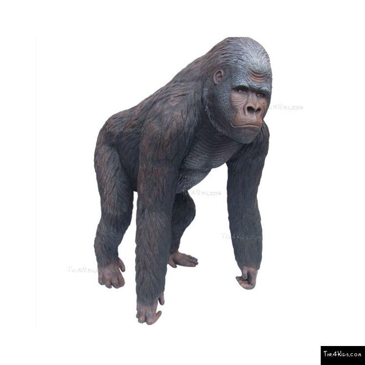 Image of Standing Gorilla Sculpture