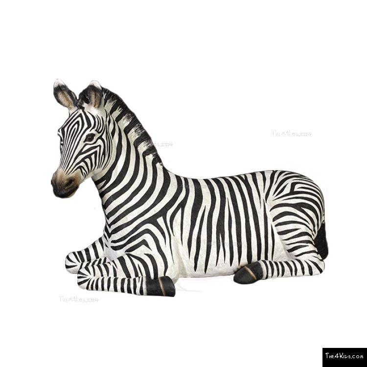 Image of Resting Zebra