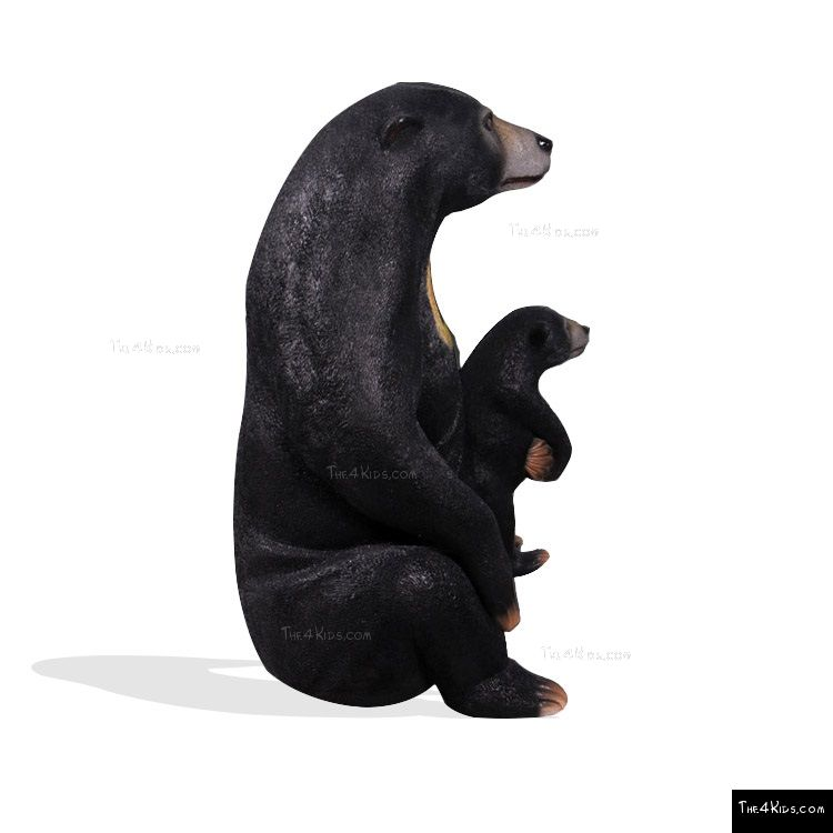 Image of Sun Bear and Cub