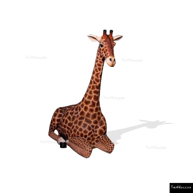 Image of 7ft Resting Giraffe