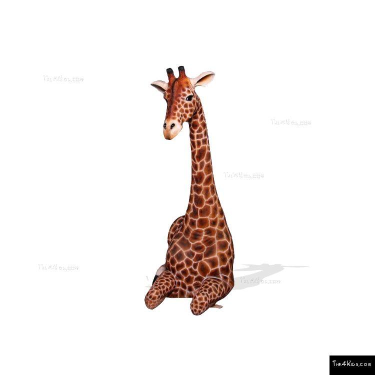 Image of 7ft Resting Giraffe