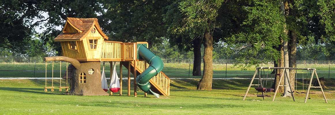 Image Gallery Treehouse Playground