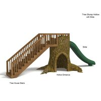 Thumbnail of Tree Stump Hollow with Slide