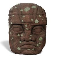 Thumbnail of 4ft Olmec Head Climber