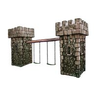 Thumbnail of Medieval Tower Swing Set