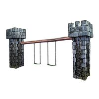 Thumbnail of Castle Swing Set