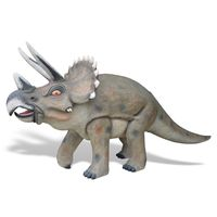 Thumbnail for Walking Triceratops Sculpture