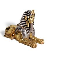 Thumbnail for Golden Sphinx Sculpture