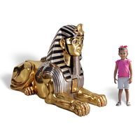 Thumbnail of Golden Sphinx Sculpture