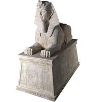 Thumbnail of Sphinx Sculpture with Pedestal
