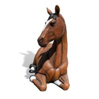 Thumbnail of Resting Horse Play Sculpture
