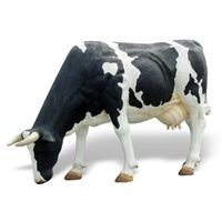 Thumbnail for Grazing Holstein Sculpture