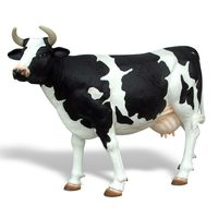 Thumbnail for Holstein Cow Sculpture