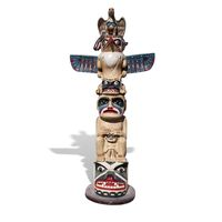 Thumbnail for Totem Pole Sculpture