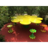 Thumbnail of Flower Table and Stools