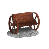 Thumbnail of Wagon Wheel Bench