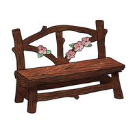 Pixie Hollow Bench