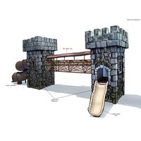 Thumbnail of Medieval Towers with Net