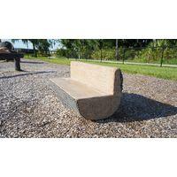 Thumbnail of Log Bench w/Back