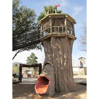 Spiral Tree Slide Tower