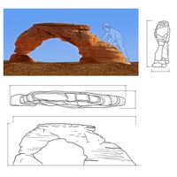 Thumbnail of Arches Rock Climber