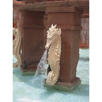 Thumbnail of Seahorse Water Fountain
