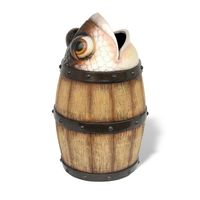 Thumbnail of Fish Barrel Trash Can