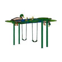 Duck Pond Swing Set