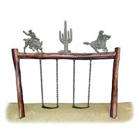 Rodeo Swing Set