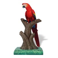 Thumbnail for Scarlet Macaw Sculpture