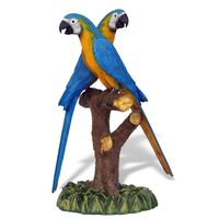 Thumbnail for Blue Gold Macaw Pair Sculpture