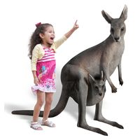 Thumbnail of 3ft Kangaroo with Joey