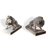 Thumbnail for Lion Duo Park Sculptures