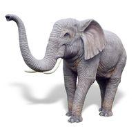 Thumbnail of Large Elephant Sculpture