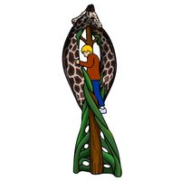 Thumbnail of Giraffe Post Climber