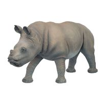Thumbnail of Rhinoceros and Baby